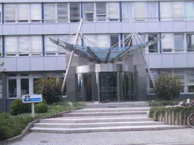 Hauptverwaltung, Eingang